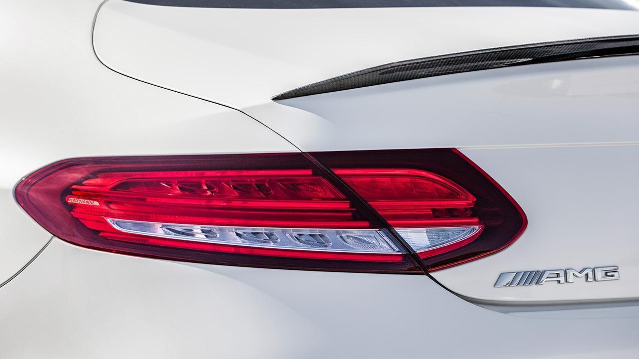 Mercedes-AMG C 63 Coupé - Schriftzug