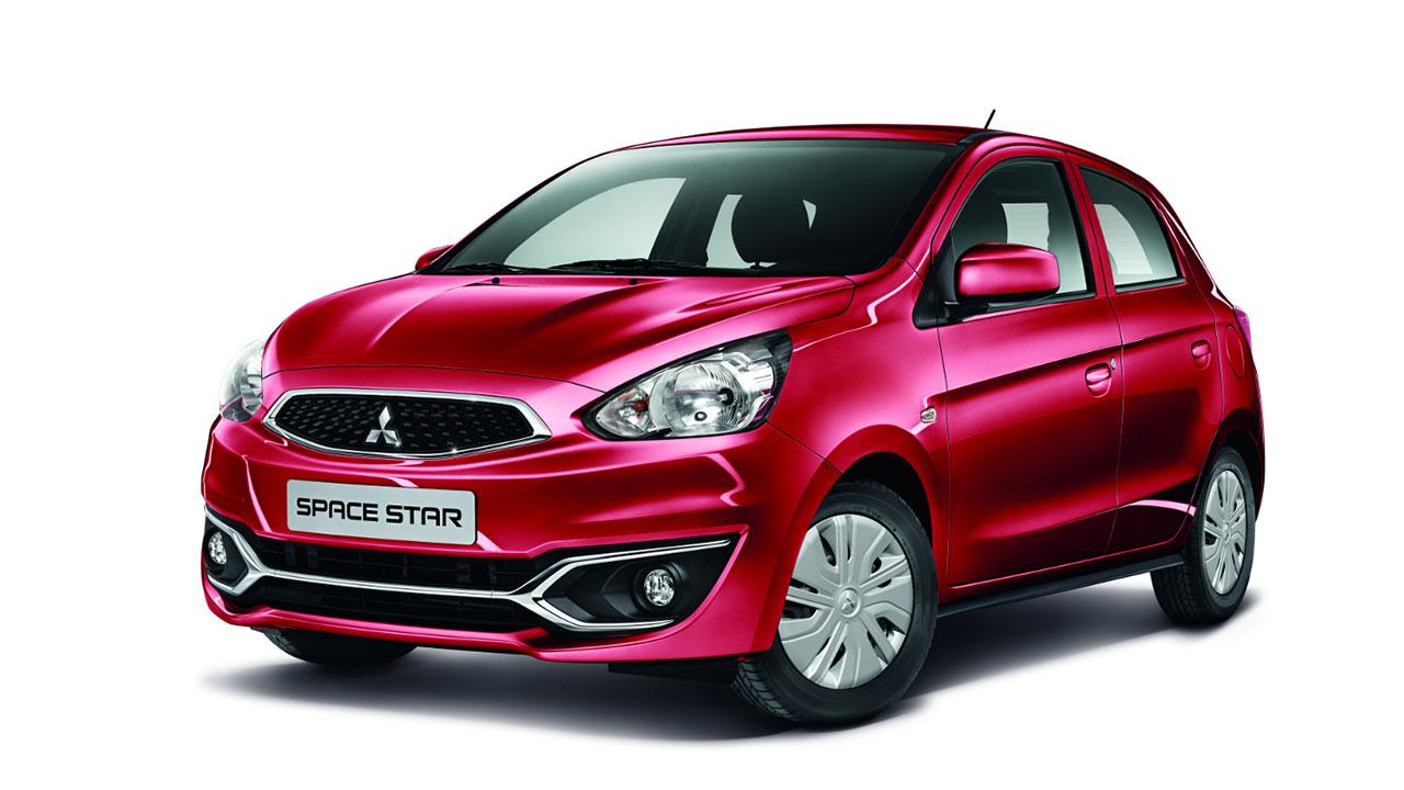 Mitsubishi Space Star - in rot