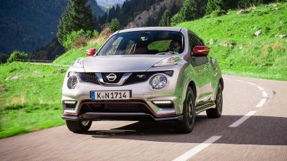 Nissan Juke - in voller Fahrt