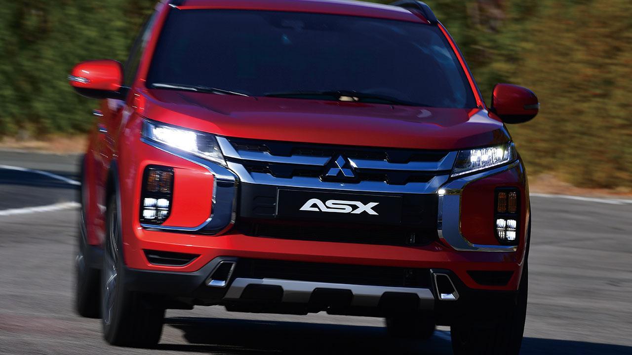 Mitsubishi ASX - Frontansicht