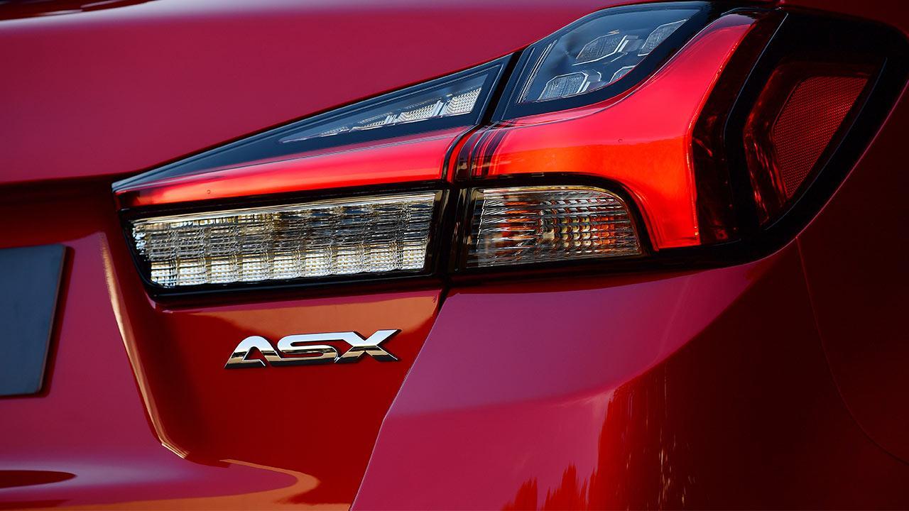 Mitsubishi ASX - Schriftzug