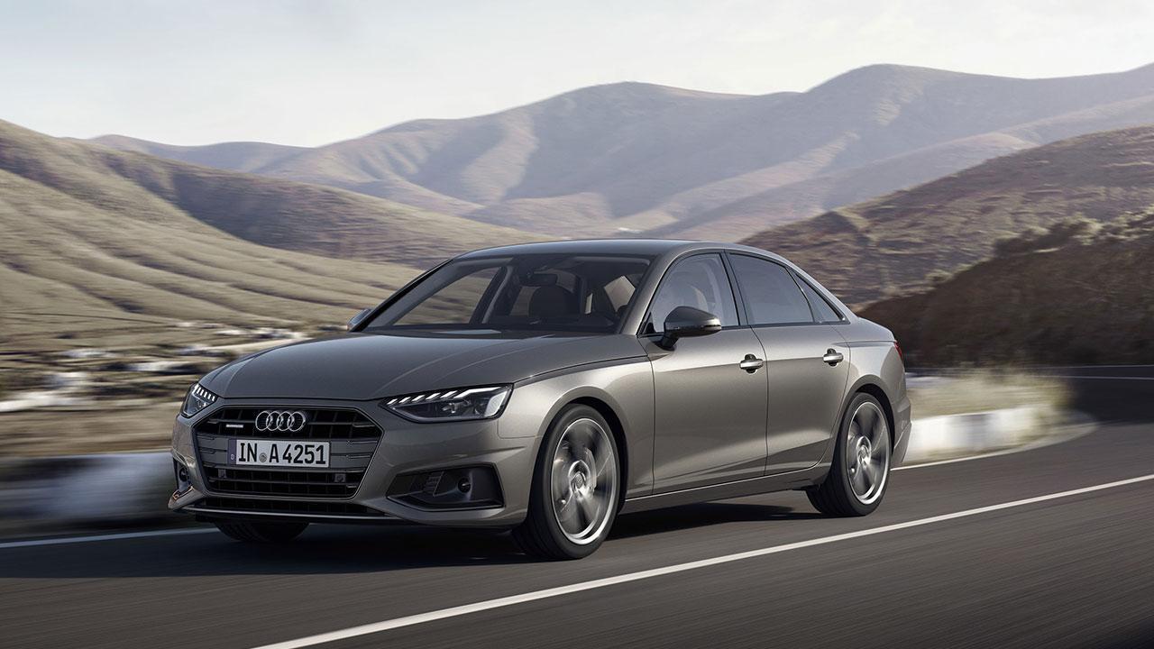 Audi A4 Limousine - in voller Fahrt