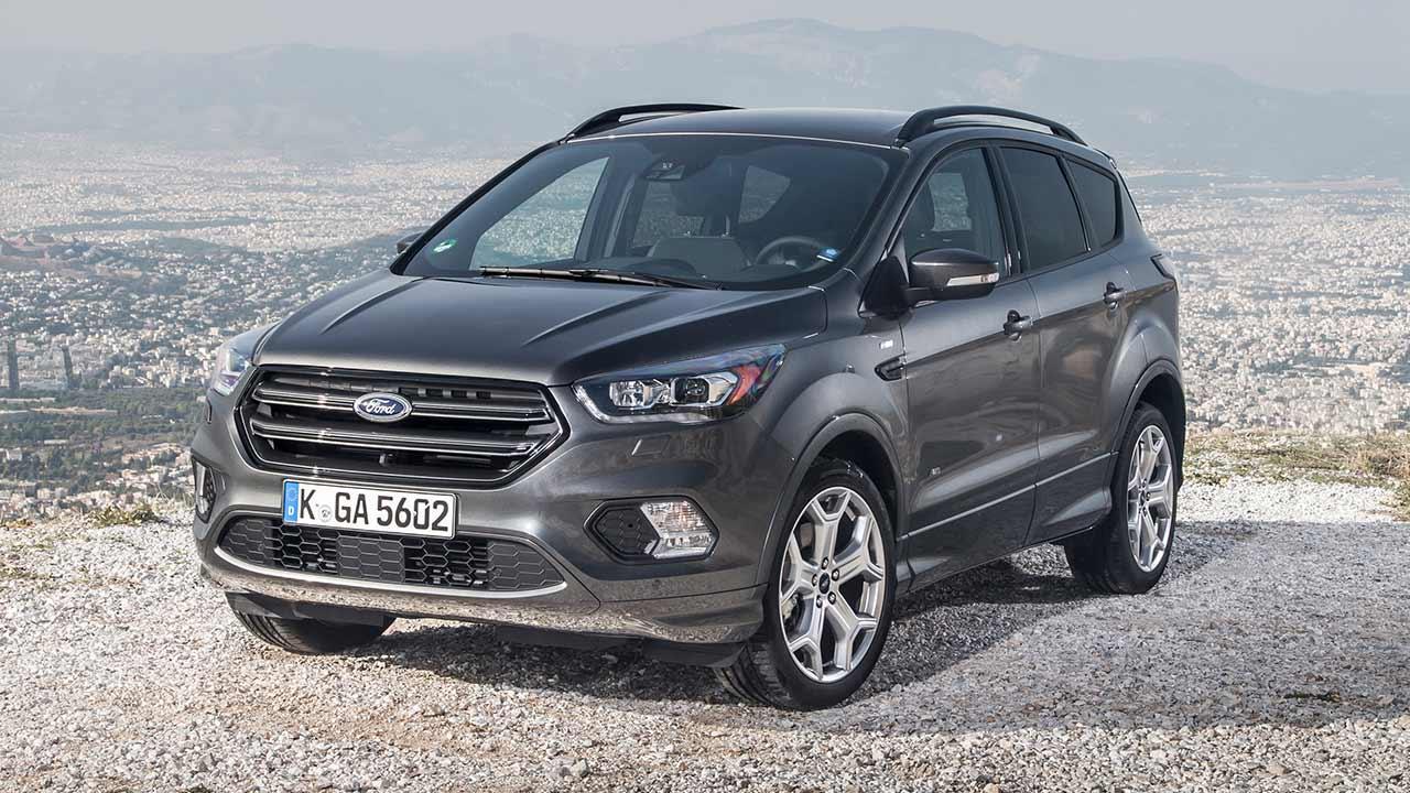 Ford Kuga - seitliche Frontansicht