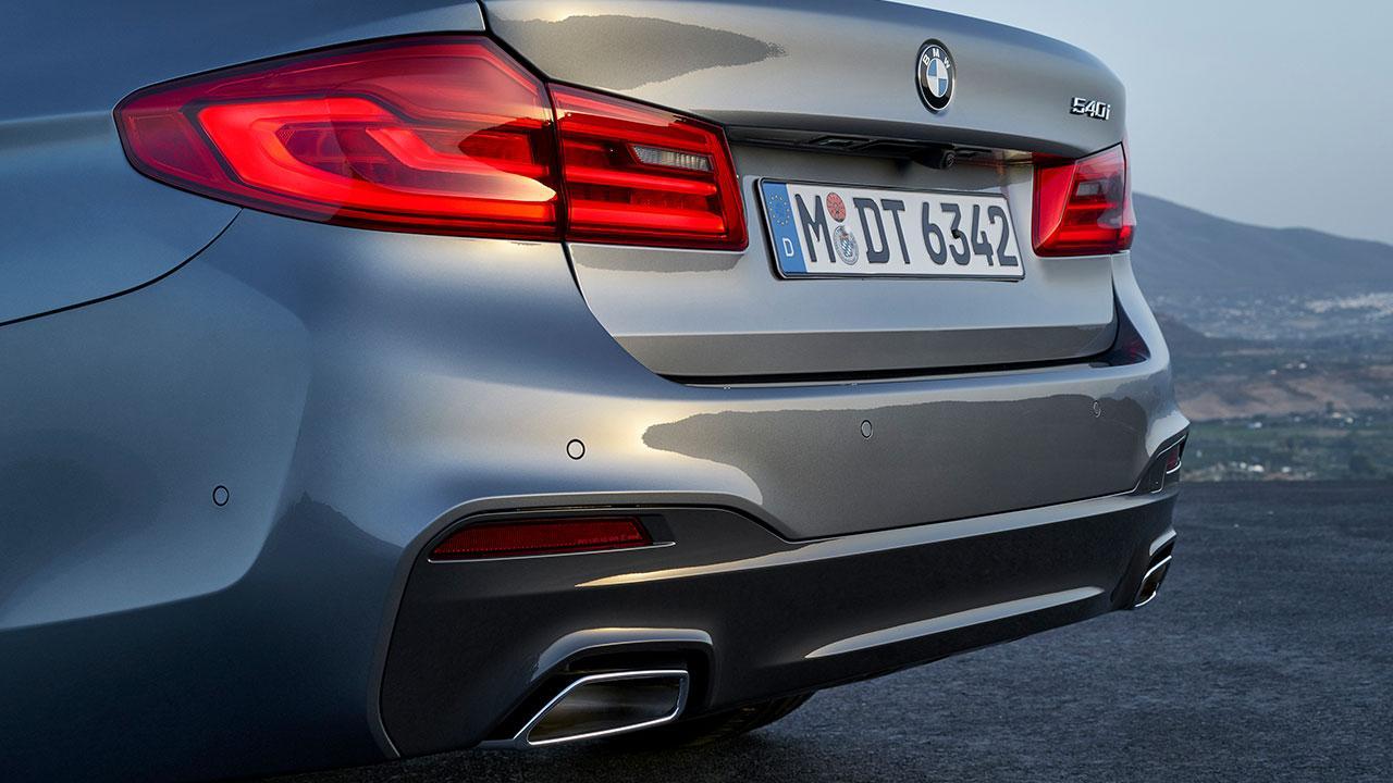 BMW 5er Limousine - Heckansicht