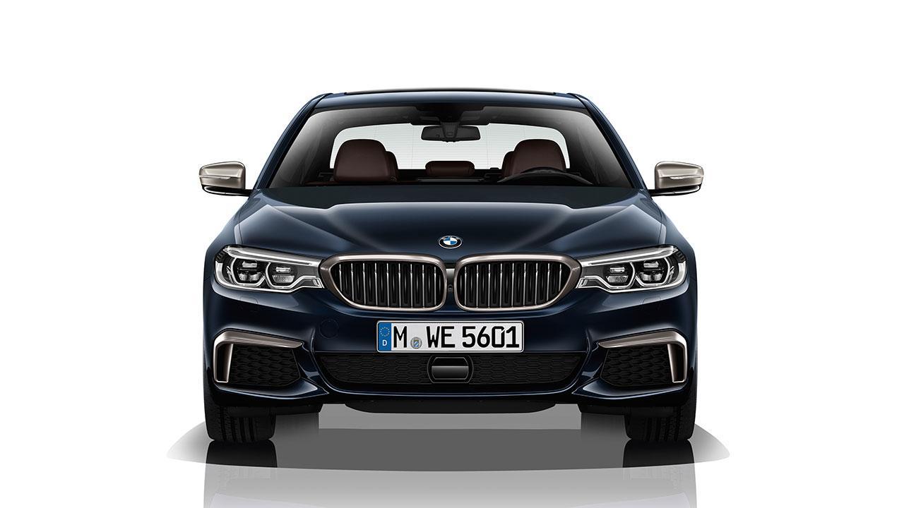BMW M550d xDrive Limousine - Frontansicht