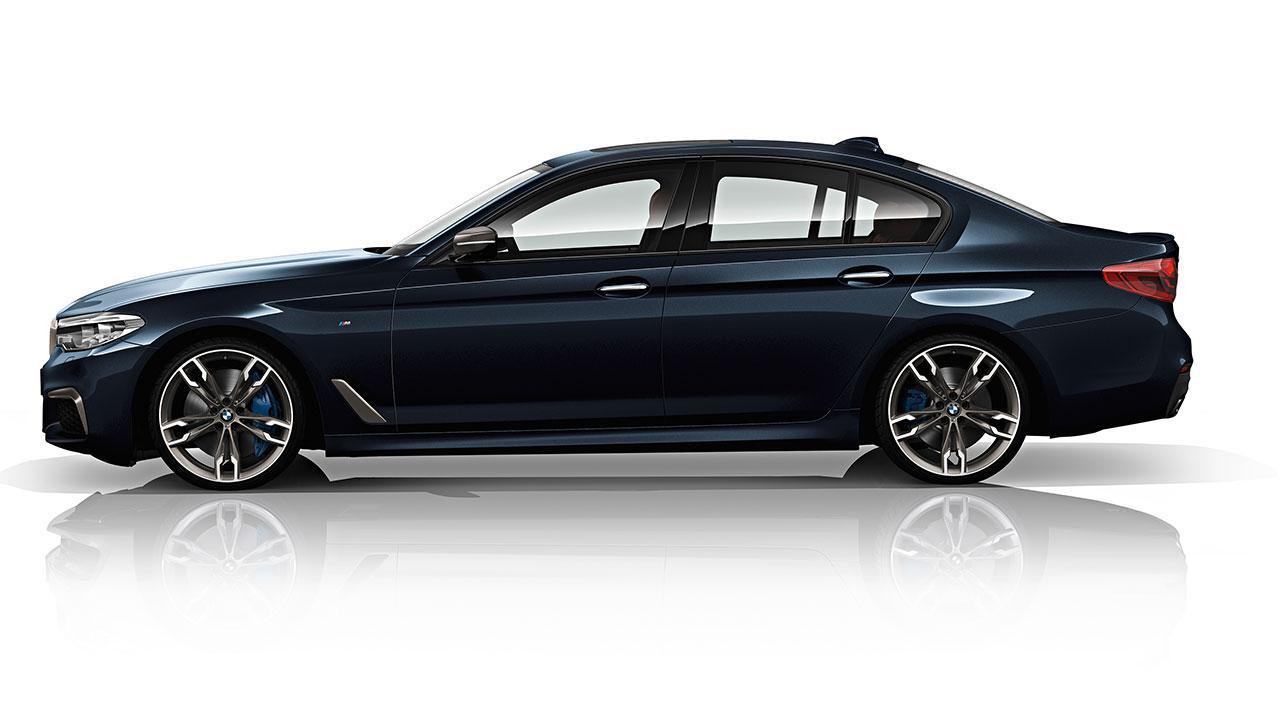 BMW M550d xDrive Limousine - Seitenansicht