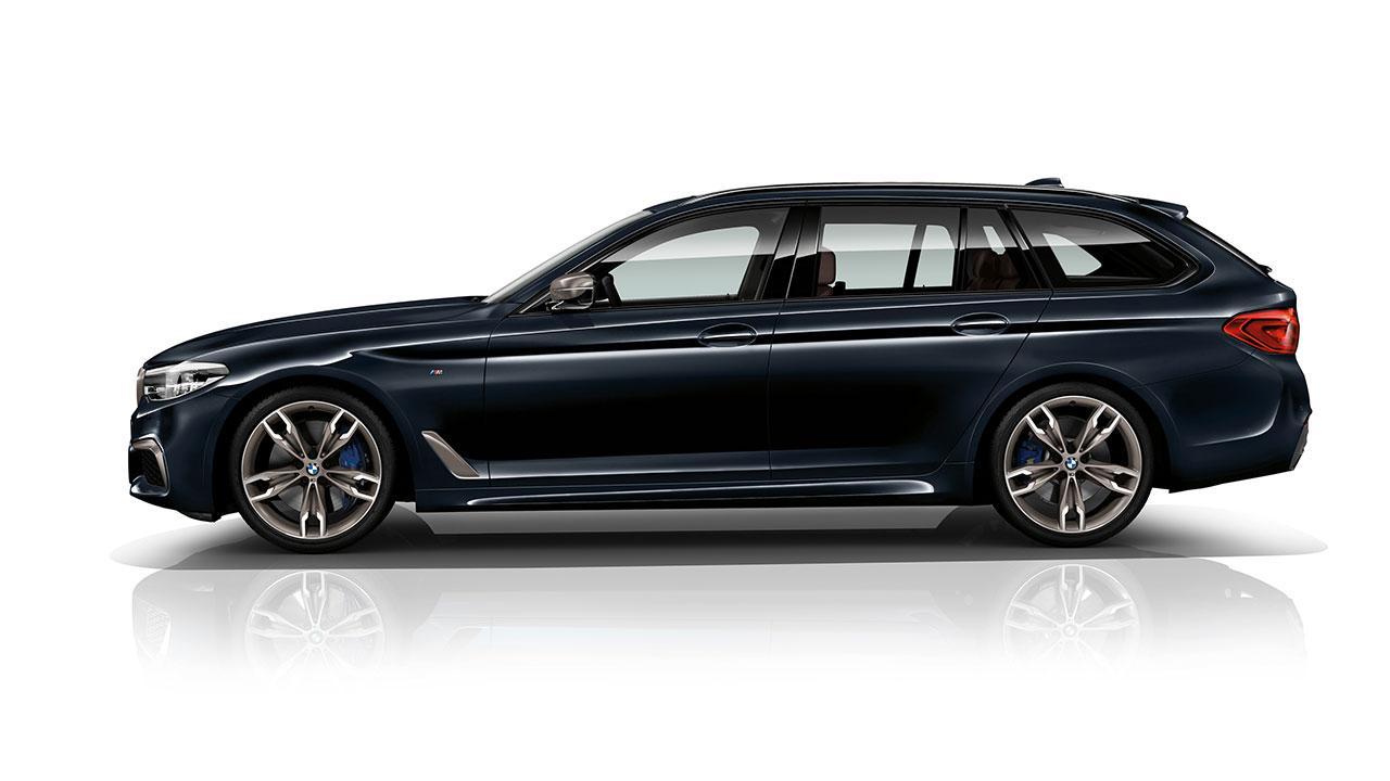 BMW M550d xDrive Touring - Seitenansicht