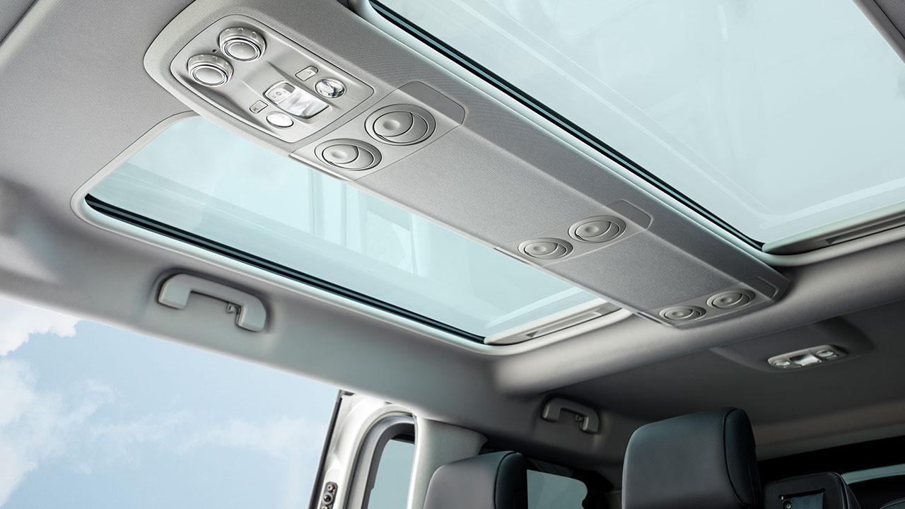 Citroen SpaceTourer - Dachfenster