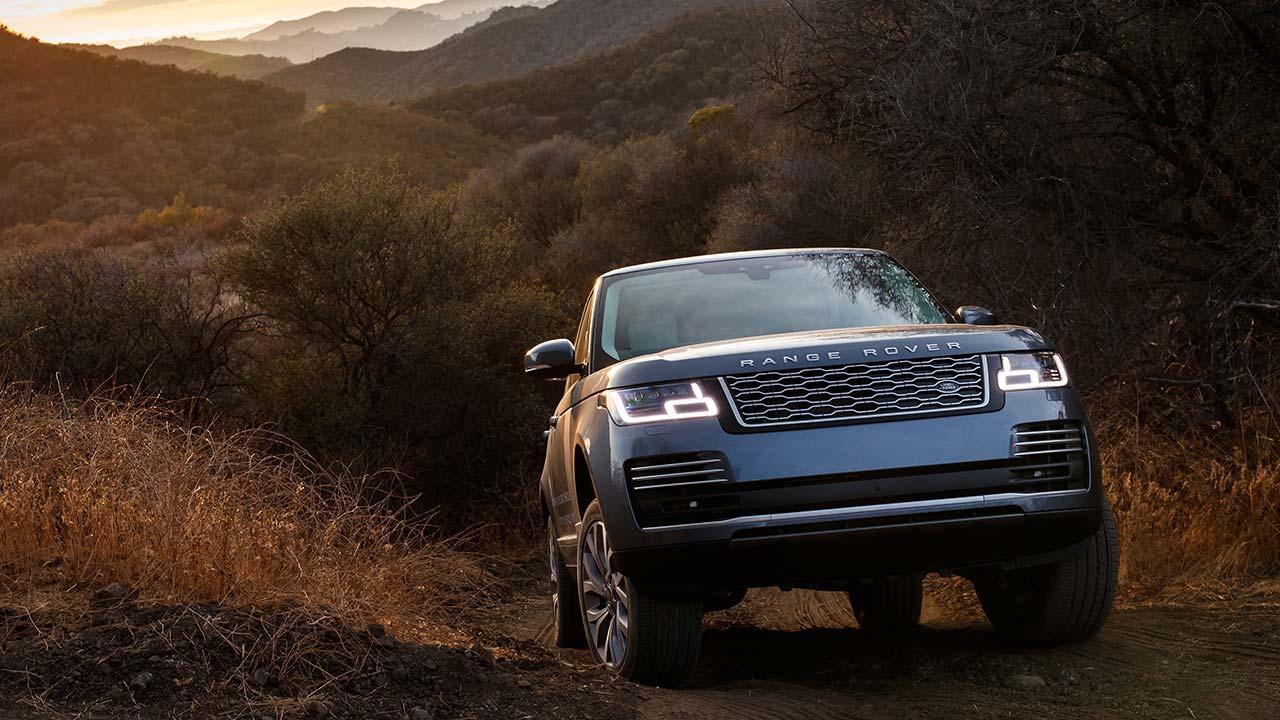 Range Rover - im Buschland