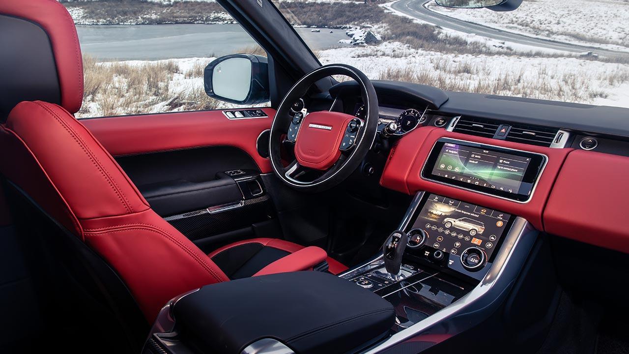 Range Rover Sport - Cockpit