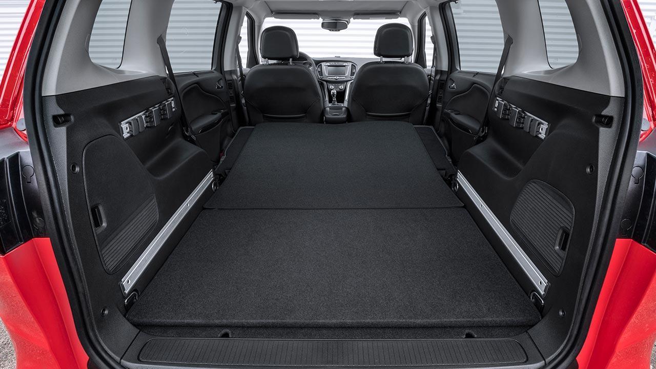 Opel Zafira - großer Laderaum