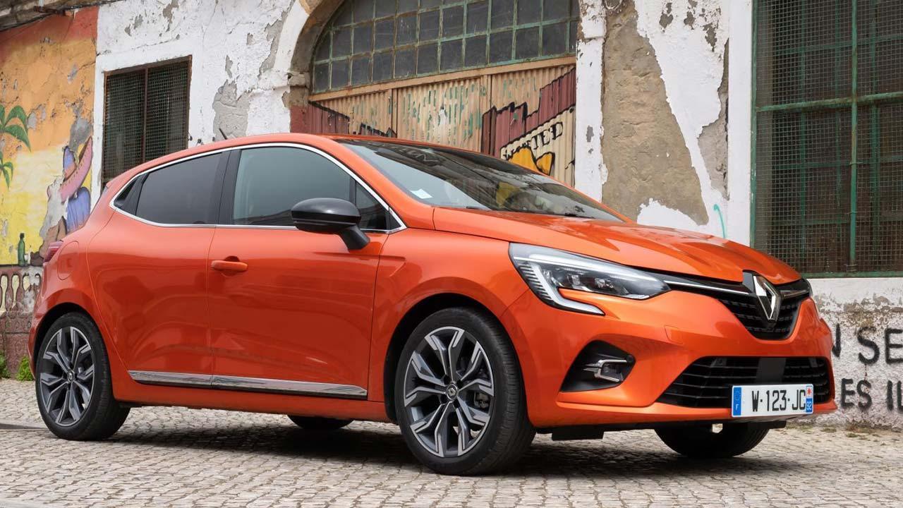 Renault Clio - in der Stadt