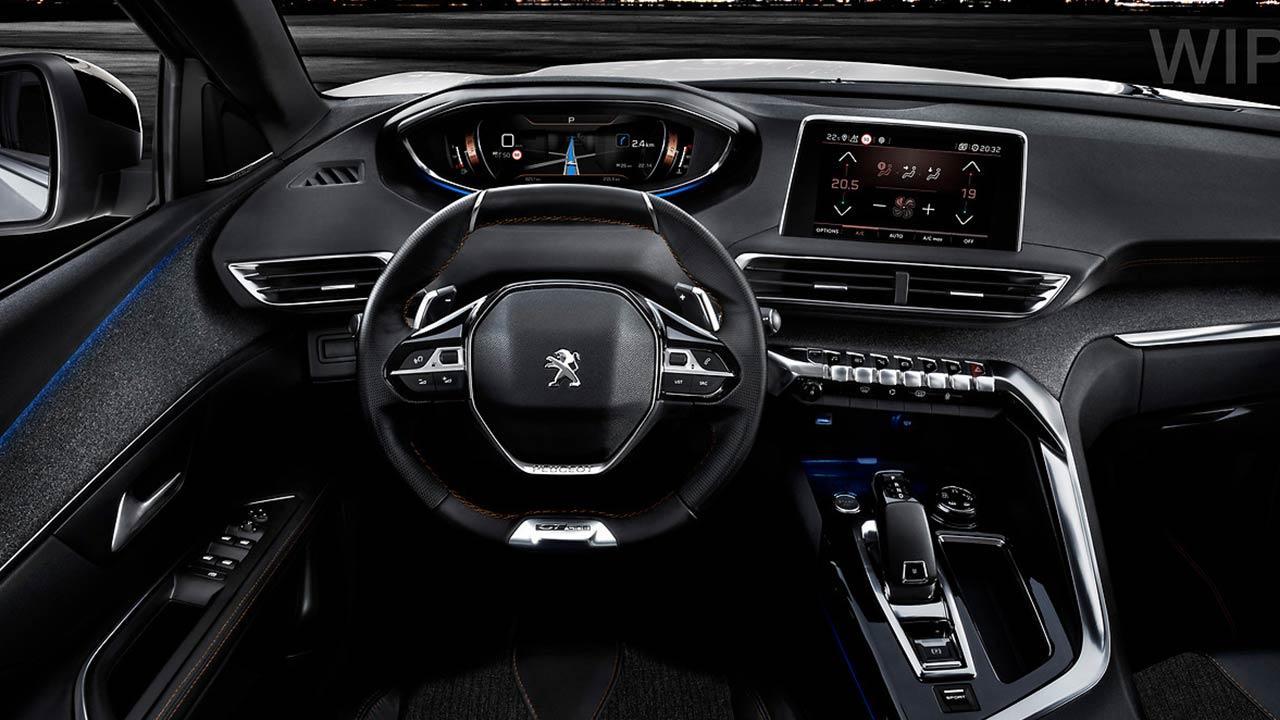 Peugeot 3008 GT - Cockpit