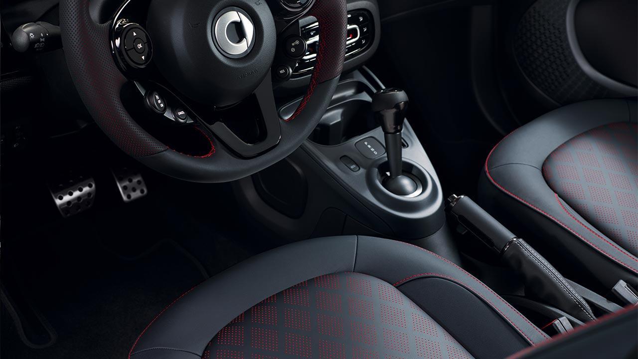 Smart EQ fortwo Cabrio - Cockpit