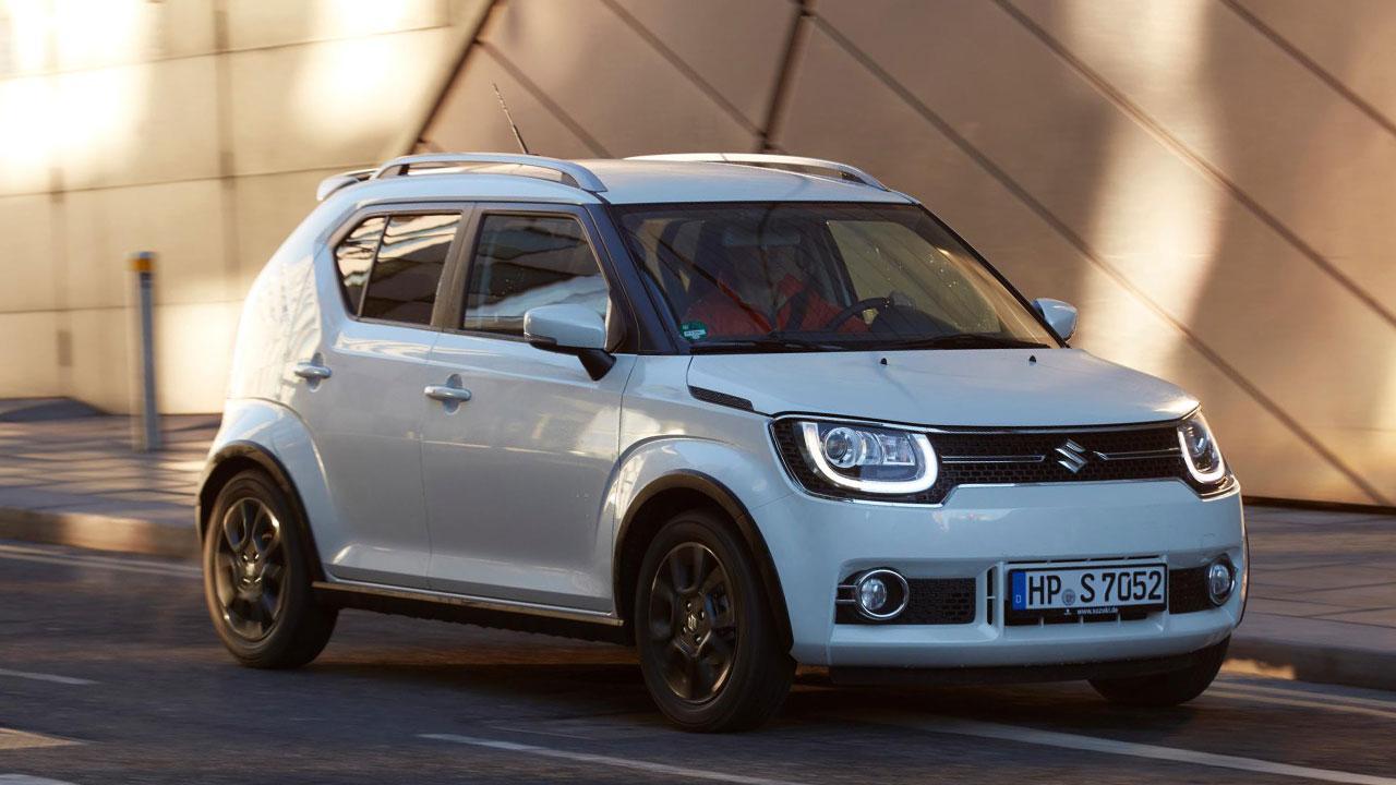 Suzuki Ignis - in voller Fahrt