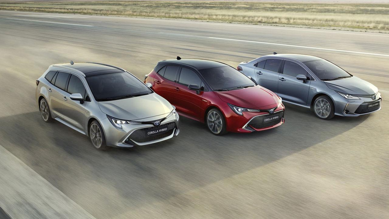 Toyota Corolla Touring Sports - aller Formen