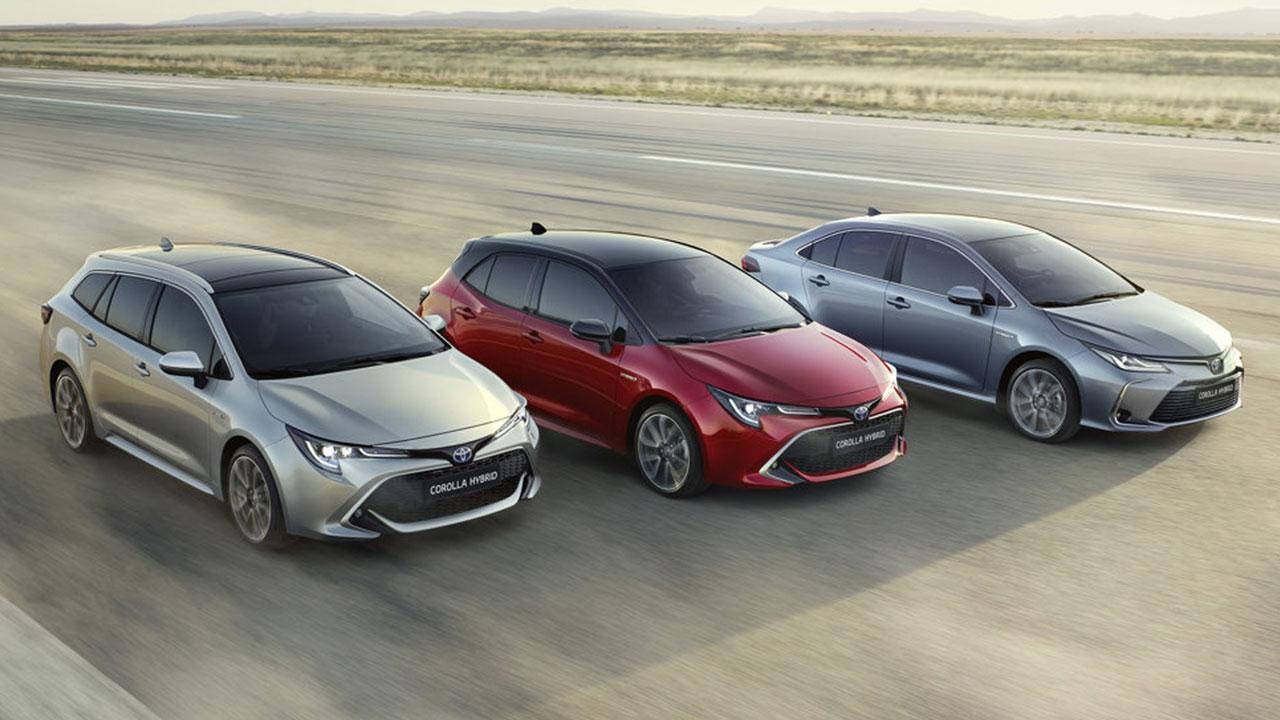 Toyota Corolla Limousine - alle Bauarten