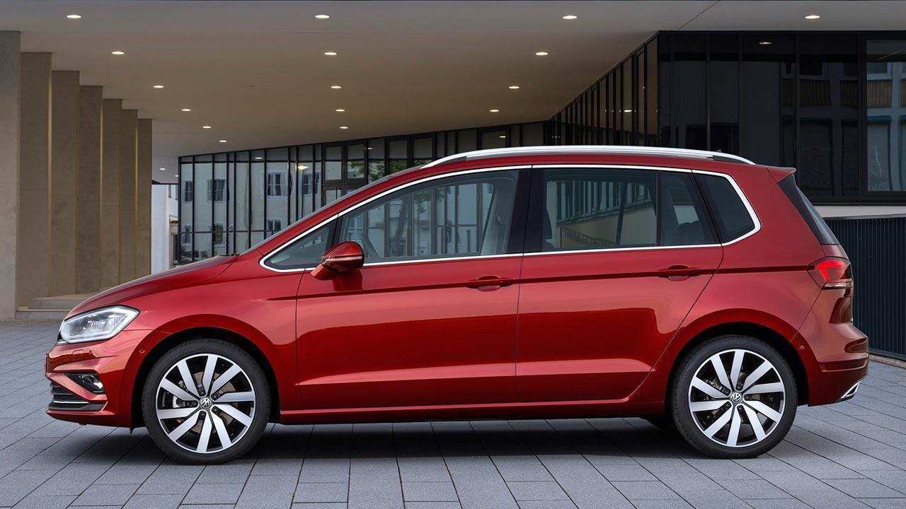 Volkswagen Golf Sportsvan - Seitenansicht