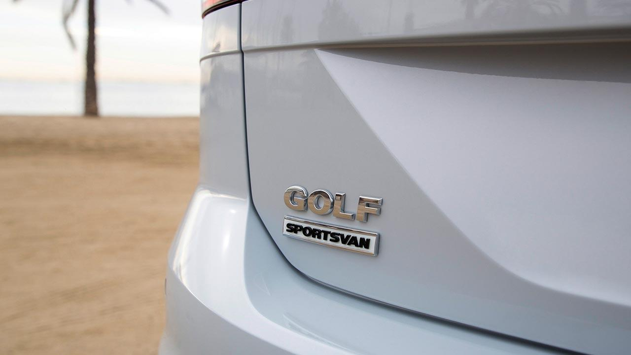 Volkswagen Golf Sportsvan - Schriftzug