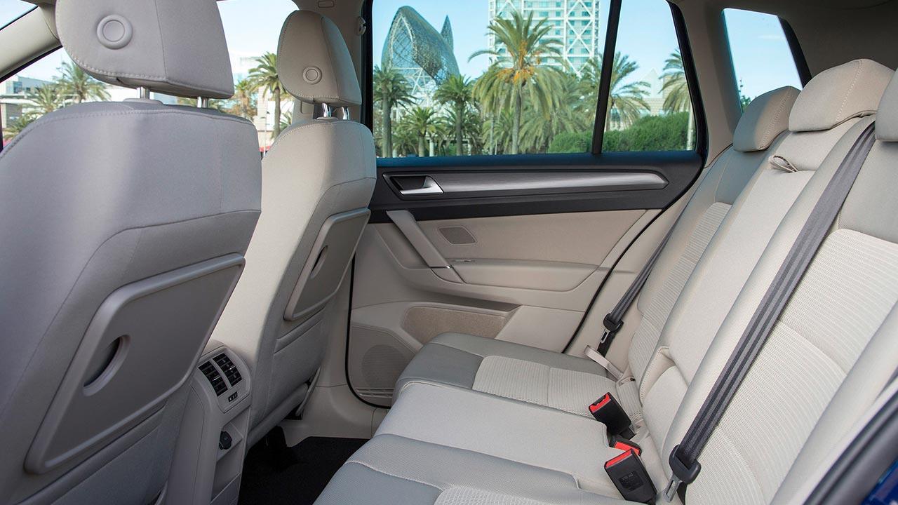 Volkswagen Golf Sportsvan - Rücksitz