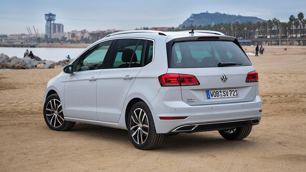 Volkswagen Golf Sportsvan - Heckansicht