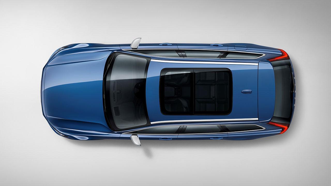 Volvo V90 - Vogelperspektive