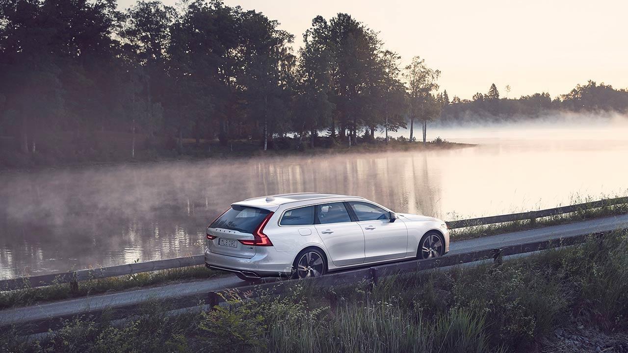 Volvo V90 - am See