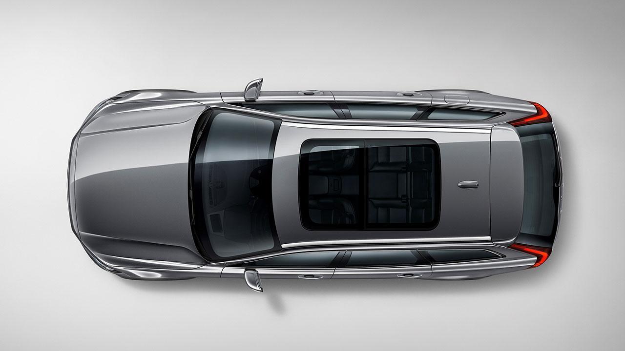 Volvo V90 Cross Country - Vogelperspektive