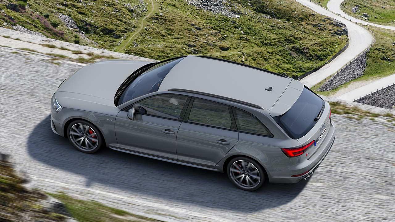 Audi S4 Avant - Vogelperspektive