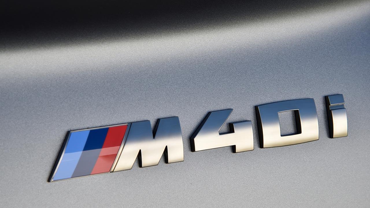 BMW Z4 Roadster M40i - Schriftzug