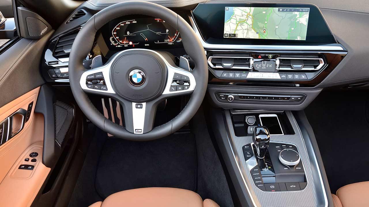 BMW Z4 Roadster M40i - Cockpit