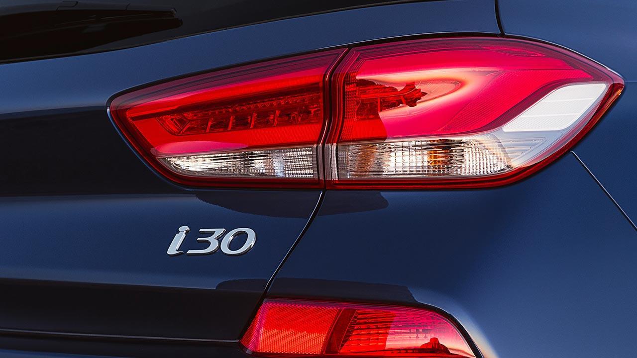 Hyundai i30 - Schriftzug