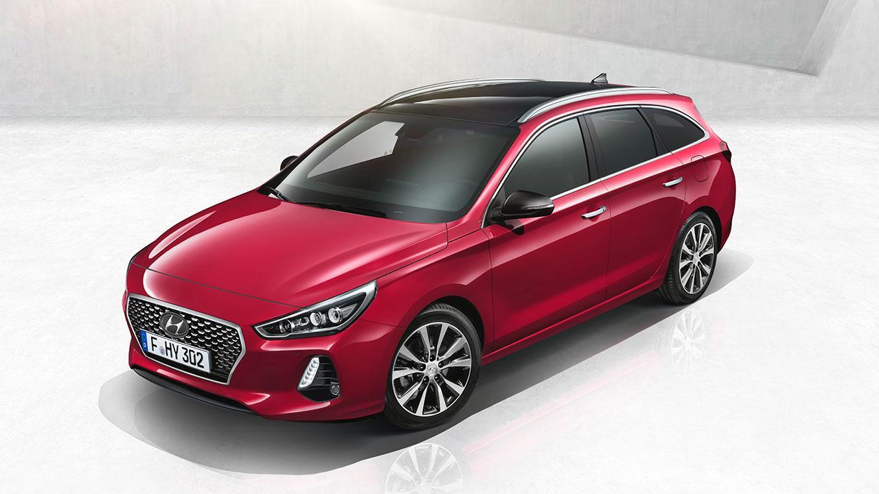 Hyundai i30 Kombi - Blick von oben