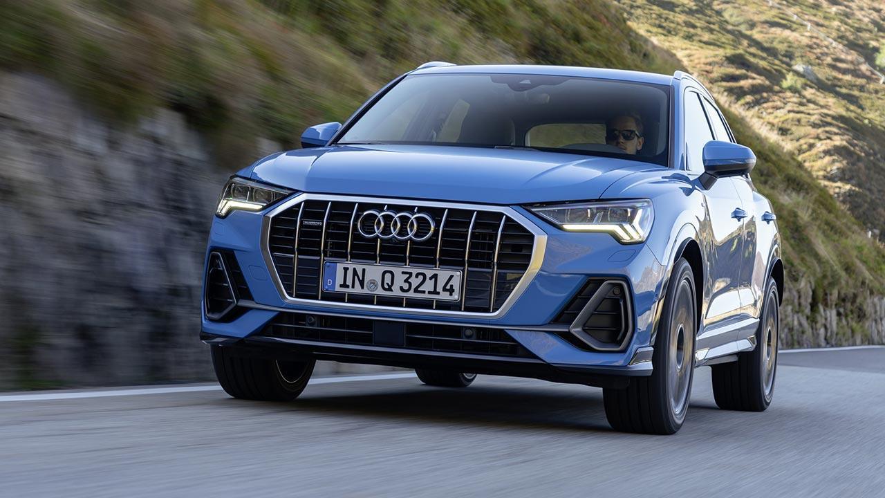 Audi Q3 2020 - Frontansicht