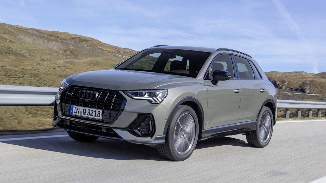 Audi Q3 2020 - in voller Fahrt
