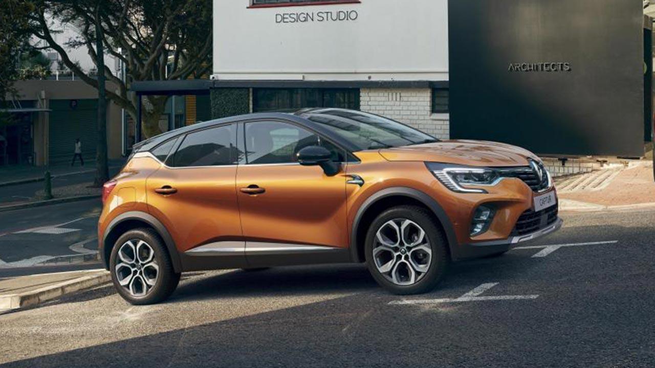 Renault Captur - Seitenansicht