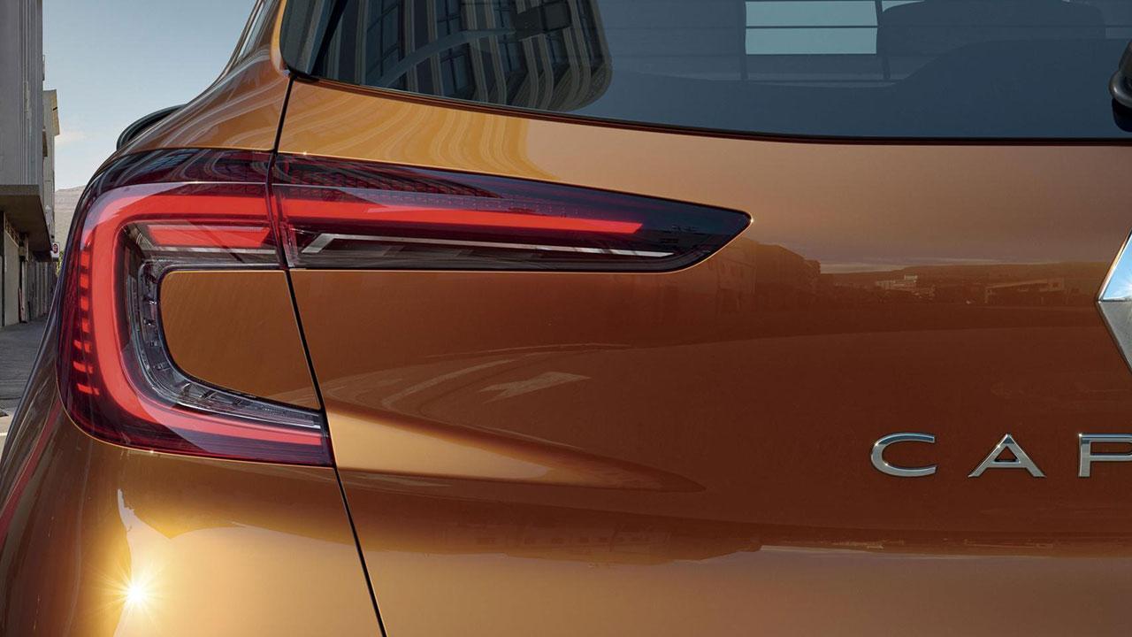 Renault Captur - Hecklicht