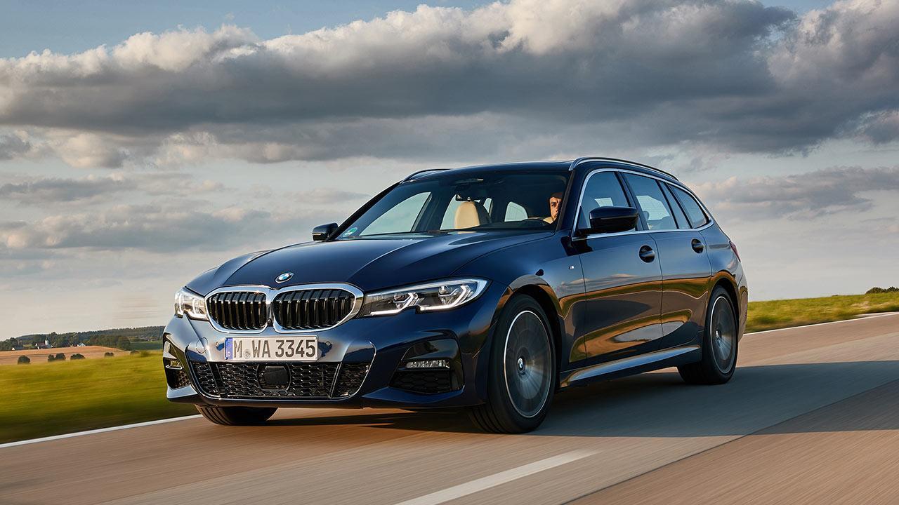 BMW 3er Touring - in voller Fahrt
