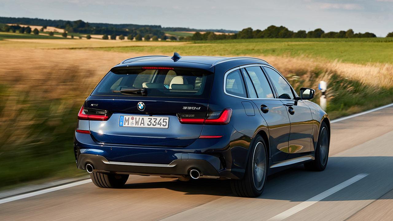 BMW 3er Touring - Heckansicht