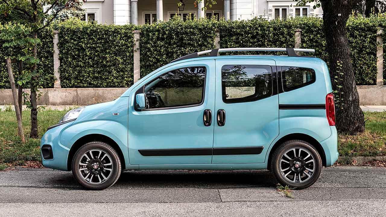 Fiat Qubo - Seitenansicht
