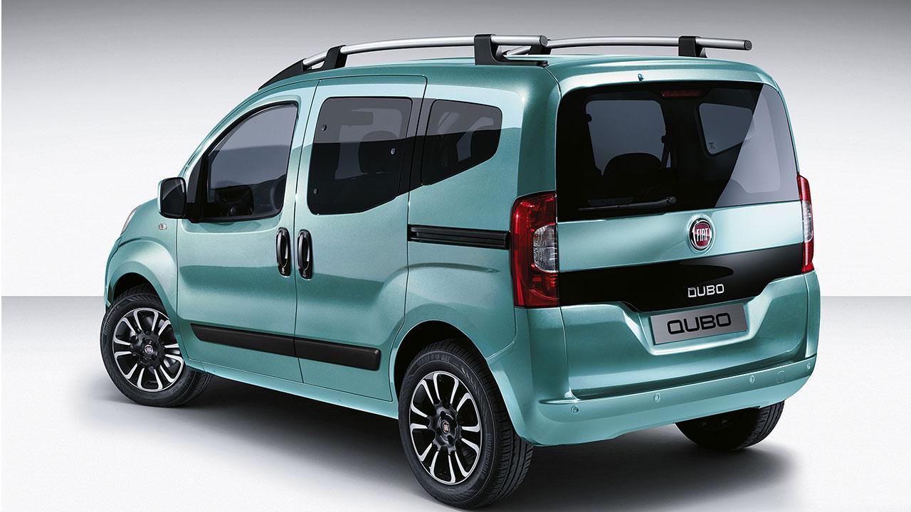 Fiat Qubo - Heckansicht