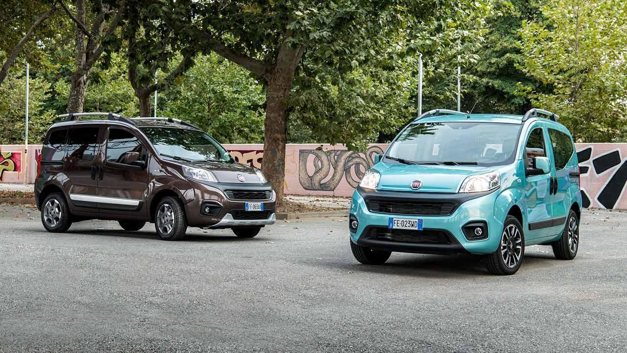 Fiat Qubo - zwei Farben