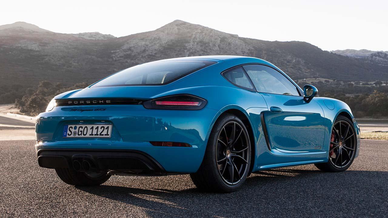 Porsche Cayman GTS - Heckansicht