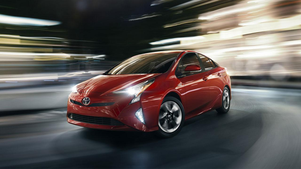 Toyota Prius - in der Großstadt