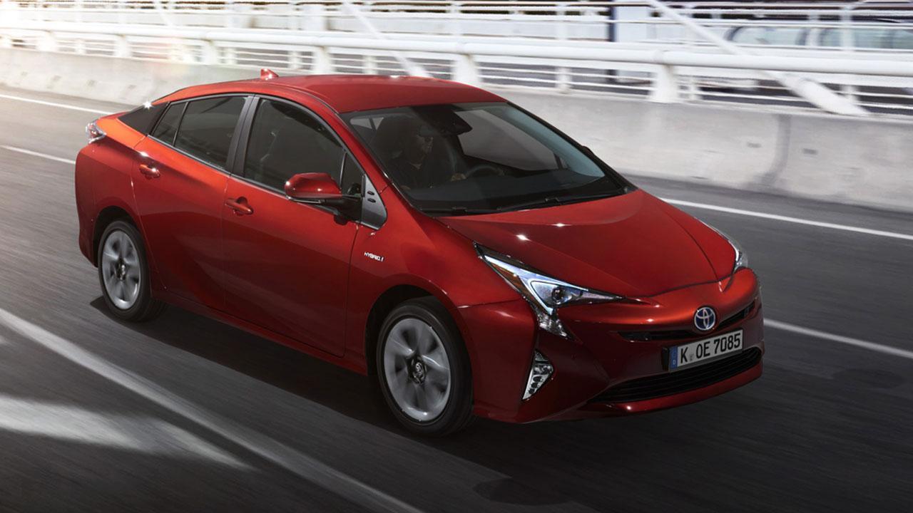 Toyota Prius - seitliche Frontansicht