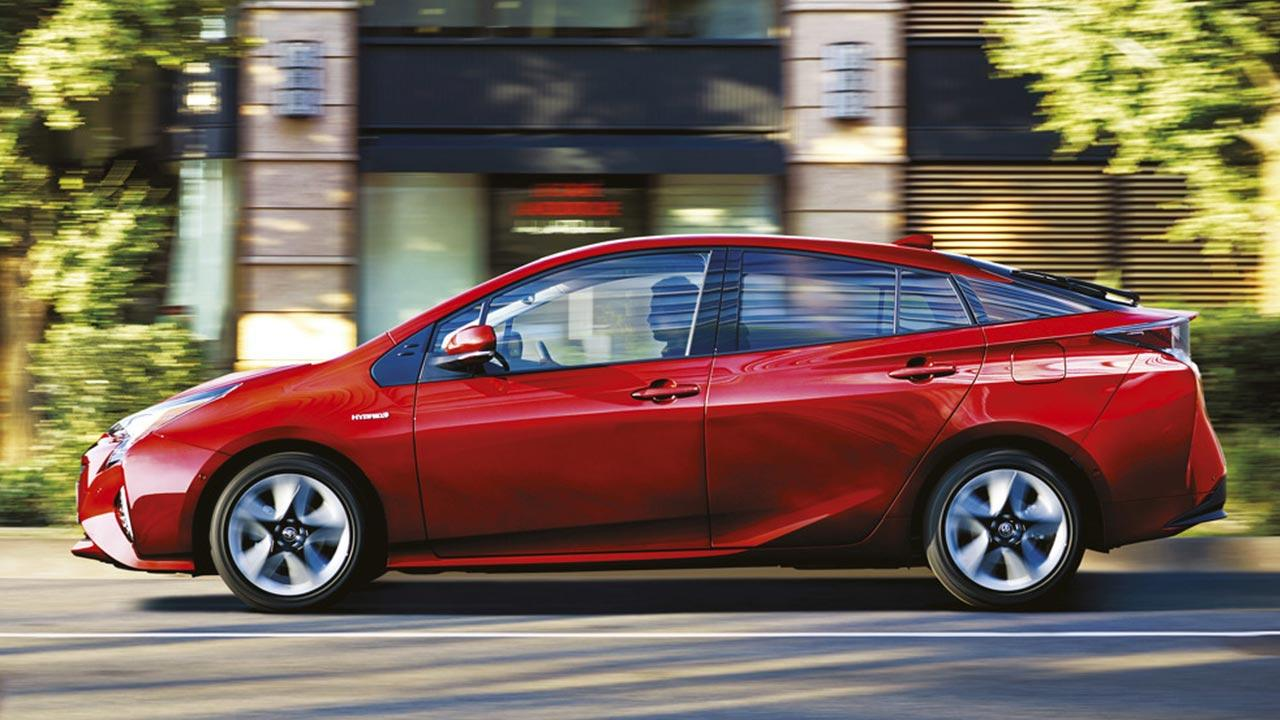 Toyota Prius - Seitenansicht