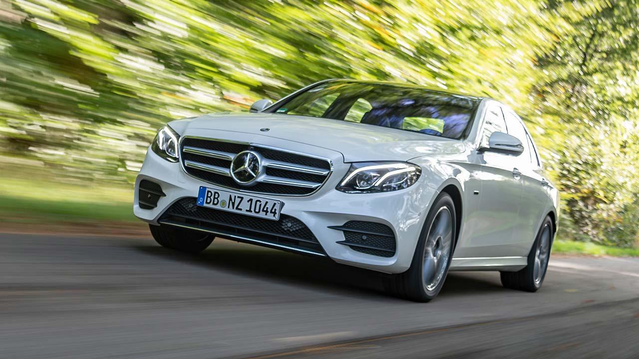 Mercedes-Benz E-Klasse Limousine - von vorne