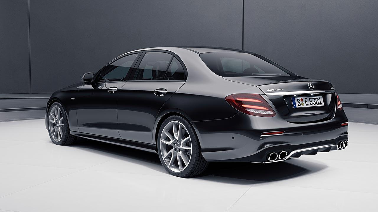 Mercedes-AMG E 53 4MATIC+ Limousine - Seitenansicht