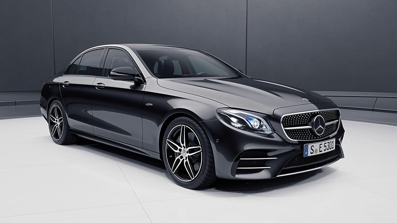 Mercedes-AMG E 53 4MATIC+ Limousine - Frontansicht