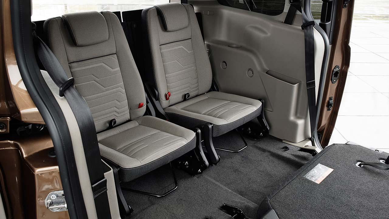 Ford Tourneo Connect - Rücksitze